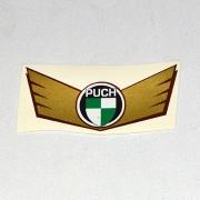 Puch skærm staffering Puch logo med guld
