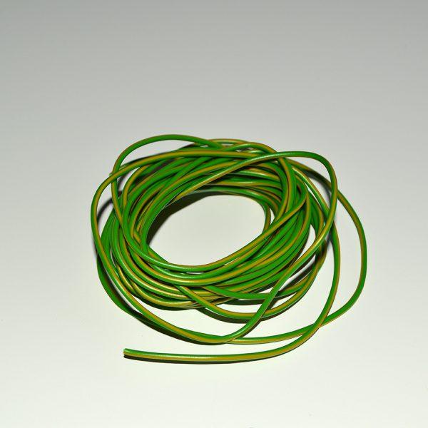 Ledning grøn/gul 5 meter