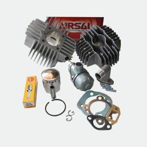 Airsal 45mm Cylinder med planet Topstykke og 15mm Karburator
