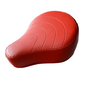 Classic sæde i flot rød farve