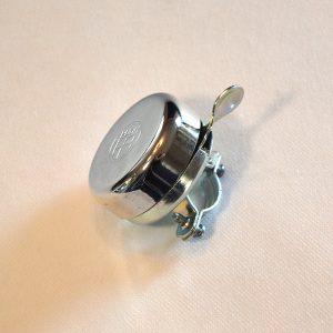 Ringklokke med Puch logo i krom