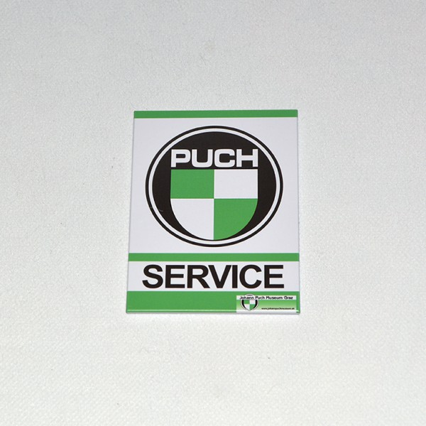 Magnet Puch service 63mm x 79mm