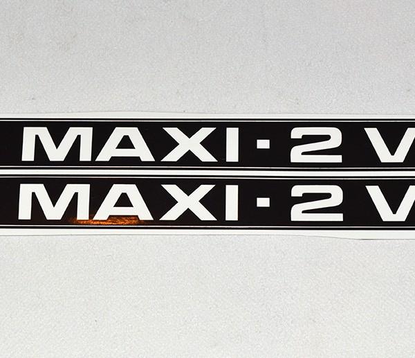 Maxi 2 V Stafferinger