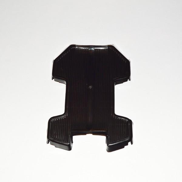 Fodplade sort plast