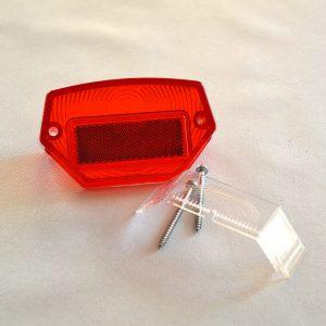 Baglygteglas inkl skruer Puch Maxi