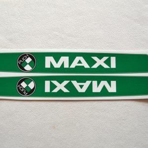 Stafferinger Maxi grøn