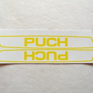 Stafferinger Puch gul hvid