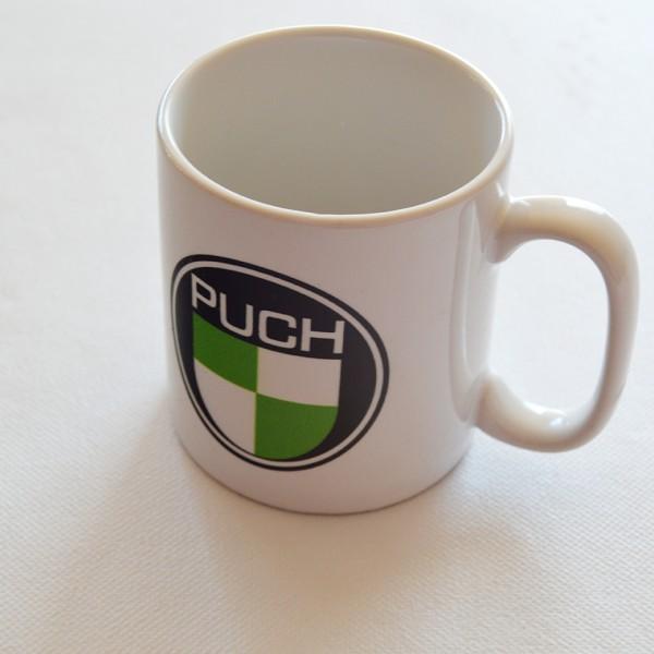 Kaffekop med Puch logo