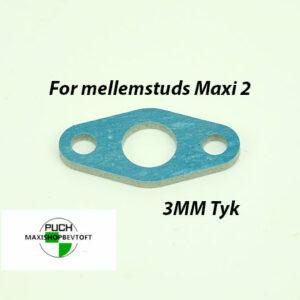Indsugnings Pakning for mellemstuds og karburator Puch Maxi 2