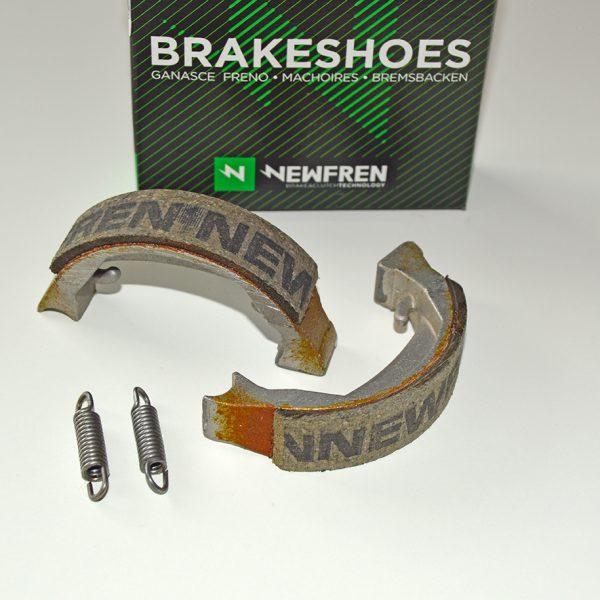 Newfren bremsebakker til for og baghjul Puch Maxi