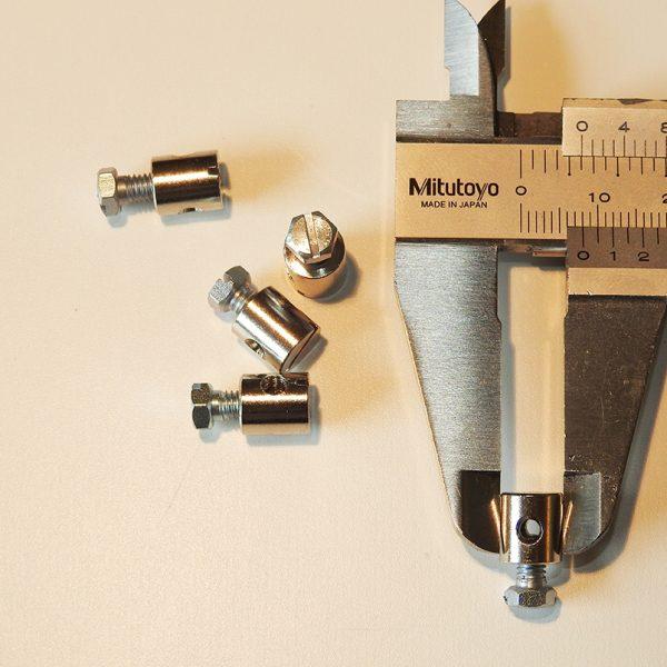 Skrue Nippel 8 X 9mm
