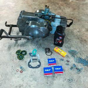 Renovering af din PUCH Maxi Motor Pedal eller Kickstart fra 1. NOVEMBER