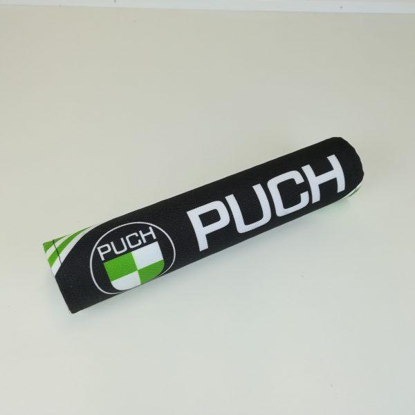 Styr pude med PUCH logo for styr med tværstang