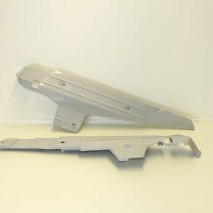 Sideskjolde grå sæt Maxi KL - S og 2 gear