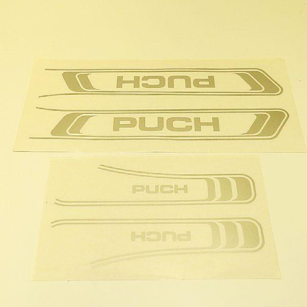 Stafferinger sølvgrå til PUCH Maxi KL-S og 2 gear