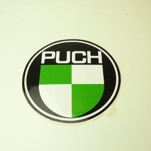 Originalt PUCH klistermærke Ø 180mm