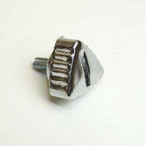 Fingerskrue i krom kort model til PUCH Maxi