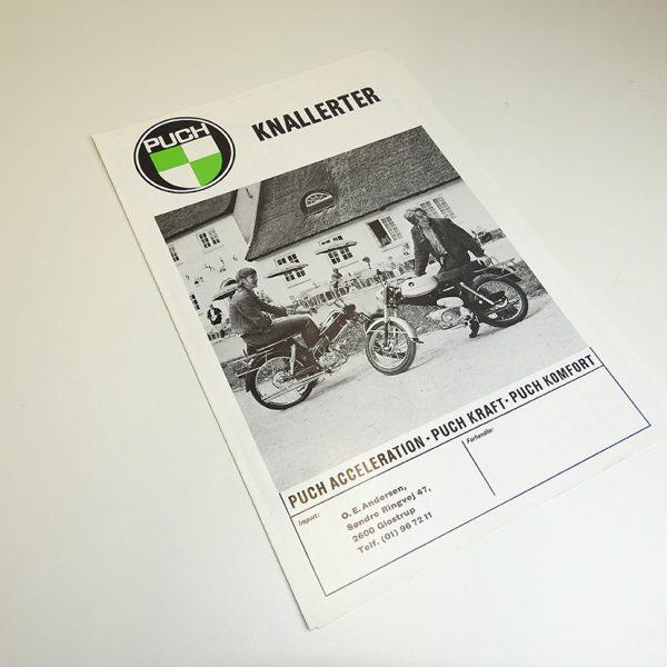 Original PUCH brochure A4