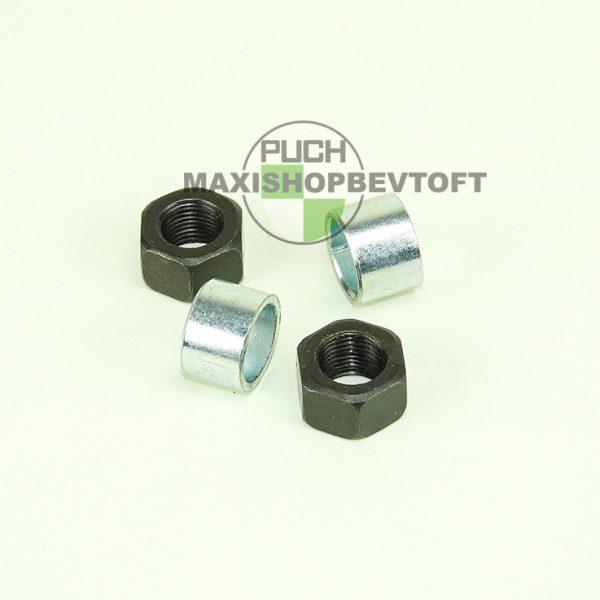 11mm møtrikker og afstandsstykker til forhjuls aksel PUCH Maxi