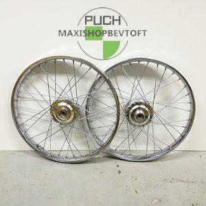 Hjulsæt inkl faste lejer i lækker kvalitet til PUCH Maxi K, P,KL