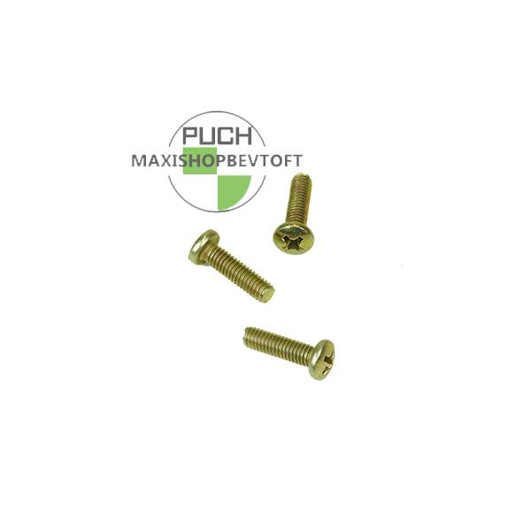 3 stk skruer for bespænding af tændingsplade PUCH Maxi