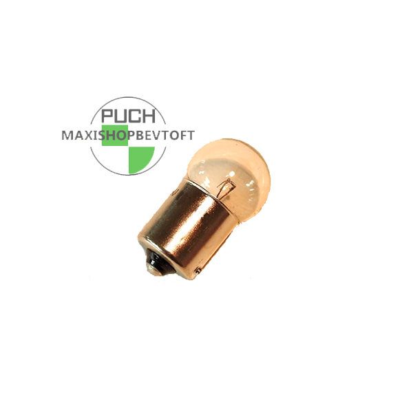 Pære 6 volt 10 watt til stor baglygte PUCH Maxi