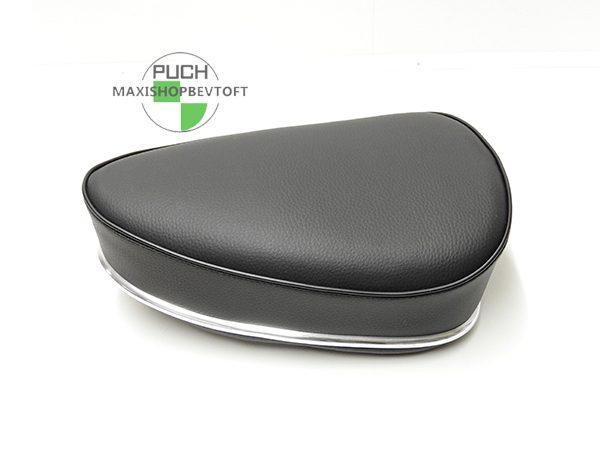 Sæde oldtimer med sort siddeflade til PUCH Maxi