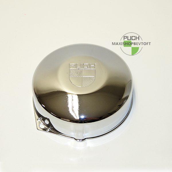 Magnet dæksel i flot krom til PUCH Maxi