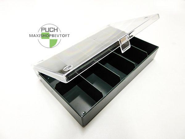 Sortiments boks med 10 rum til dyser eller lign