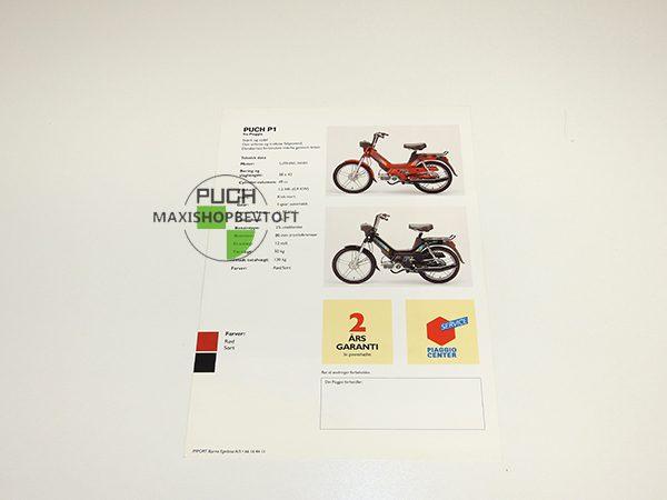 Brochure Piaggio Puch Maxi P1