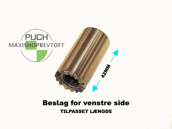 Fodhviler stel beslag 42mm for VENSTRE side PUCH Maxi