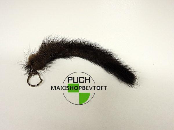 Minkhale med nøglering ca 20cm i længden