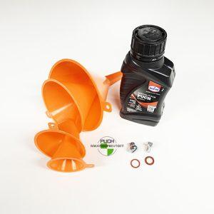 SÆT for olie skift til din PUCH Maxi P, K eller KL