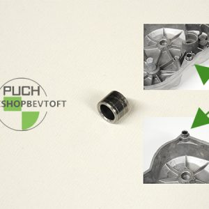 Styrebøsning for kickstarter dæksel