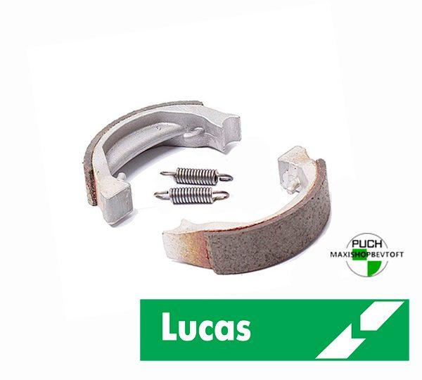 Lucas Bremsebakker 80mm i høj kvalitet til PUCH Maxi P, K, KL