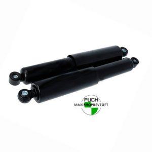 Støddæmpere 310mm sort MKX til PUCH Maxi Kl og 2 gear
