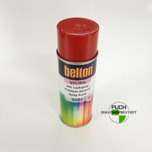Ral 3002 Rød kvalitetslak fra Belton 400ml