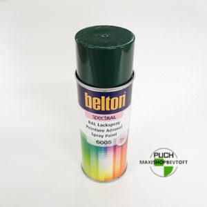 Ral 6005 grøn kvalitetslak fra Belton 400ml