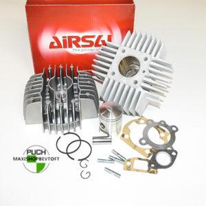 Airsal 50cc Cylinder og Topstykke NY model passer til alle PUCH Maxi modeller
