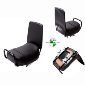 Universal sæde med rygstøtte