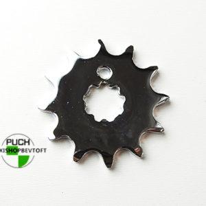 12 tands forkromet tandhjul til PUCH Maxi