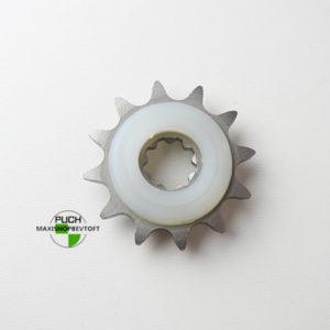 12 tands vibrationsdæmpende tandhjul til PUCH Maxi