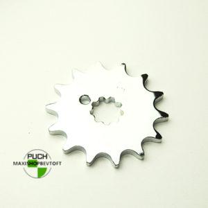 14 tands forkromet tandhjul til PUCH Maxi