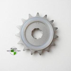 15 tands vibrationsdæmpende tandhjul til PUCH Maxi