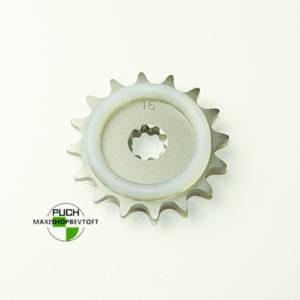 16 tands vibrationsdæmpende tandhjul til PUCH Maxi