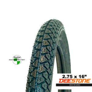 Deestone dæk 275 x 16