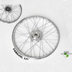 Forhjul inkl faste lejer i lækker kvalitet til PUCH Maxi K P KL