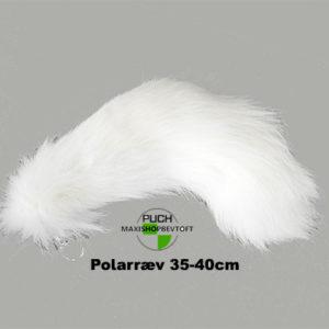 Polarræv hale med vedhæng