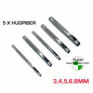 5 x Hugpiber