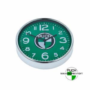 Puch ur til vægophæng med GRØN urskive